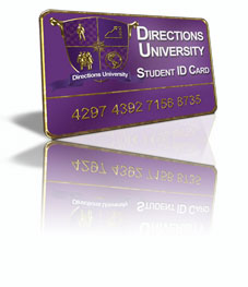Directions University Student ID Card
